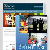 <em>Rethinking Drinking</em> Website and Booklet thumbnail